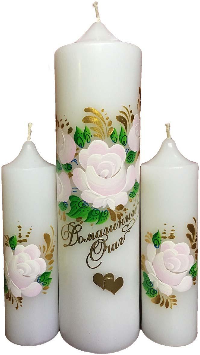 Свечи свадебные Мир свечей, 20 см х 6 см #1