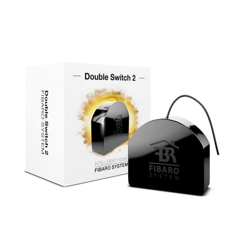Модуль управления Fibaro Встраиваемое двойное реле Double Switch 2x1.5kW  #1