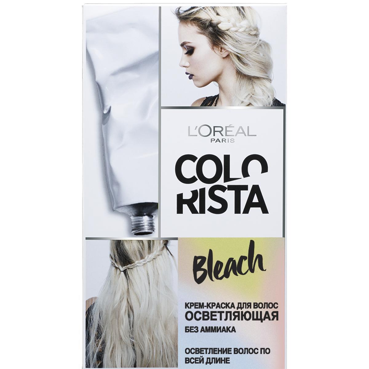 "L'Oreal Paris Крем-краска для волос осветляющая ""Colorista Bleach"", без аммиака  #1"