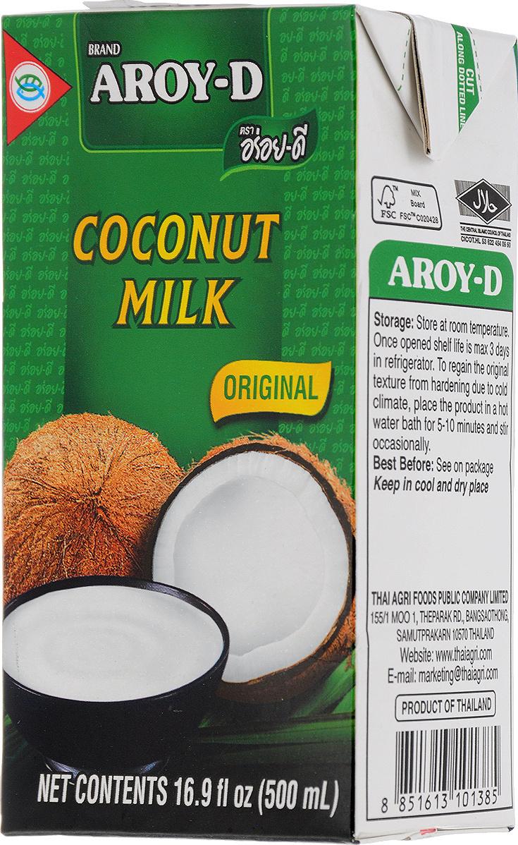 Кокосовый напиток Aroy-d 70% жирность 17-19%, 500 мл #1